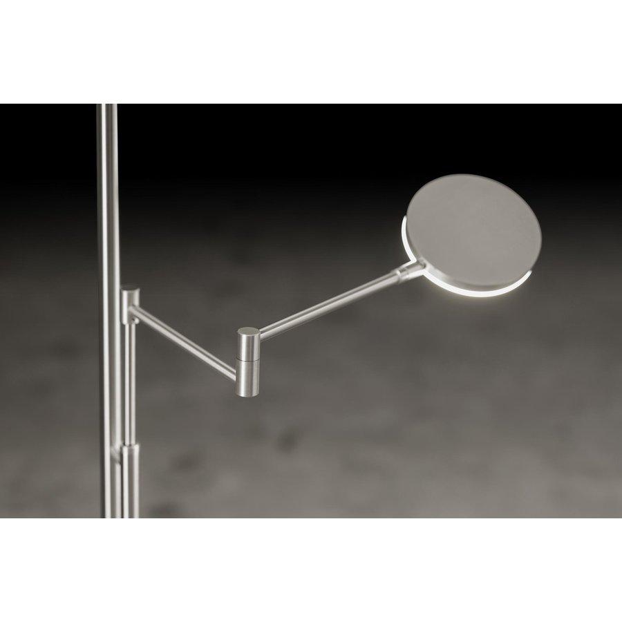 Dimbare uplighter met leesarm Nova Plano met geïntegreerde LED