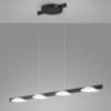 Helestra Dimbare 4-lichts hanglamp Pole met geïntegreerde LED
