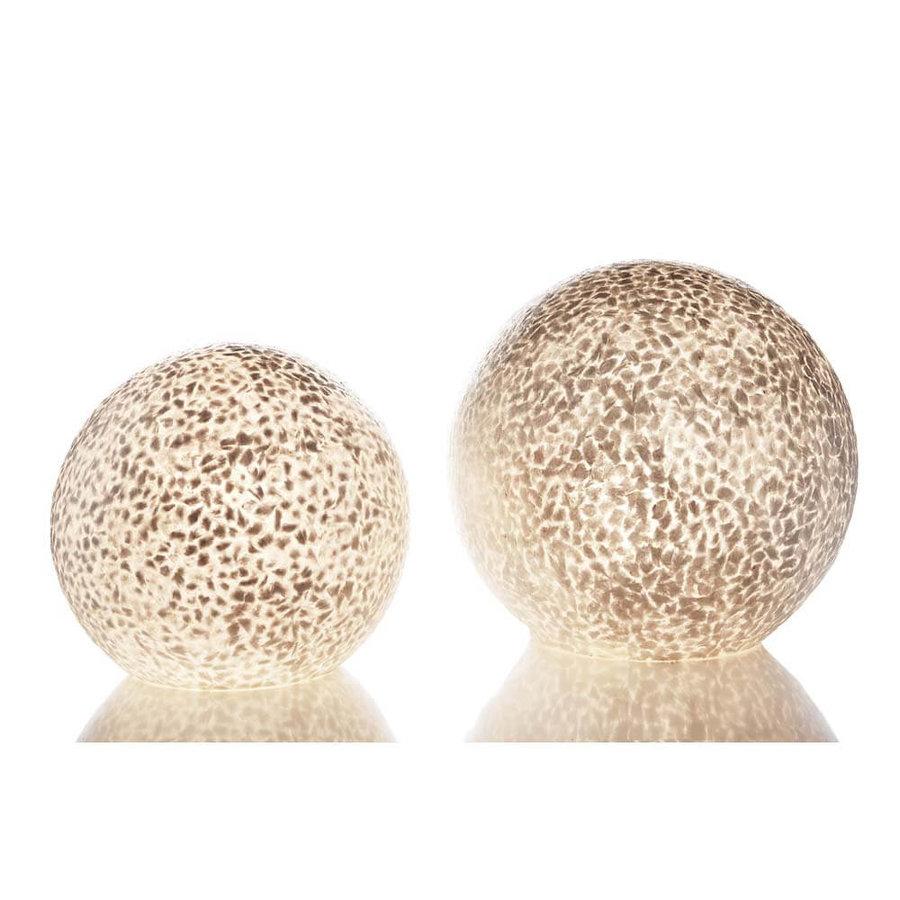 Tafellamp Wangi White Bol Ø 30 cm
