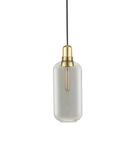 Amp Large - Rookgrijs/goud