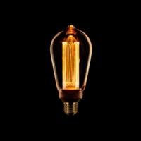 Masterlight 6-lichts hanglamp Bounty Smoke - mat goud