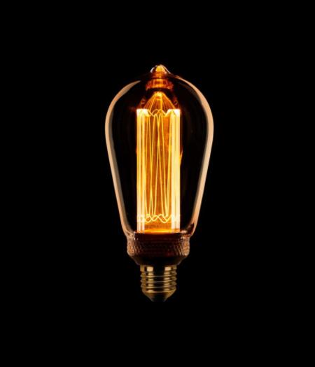 LED E27 Edison ST64 3-staps dimbaar