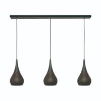 3-lichts hanglamp Bruciato