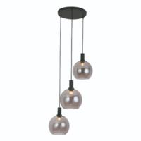 Ronde 3-lichts hanglamp Chandra