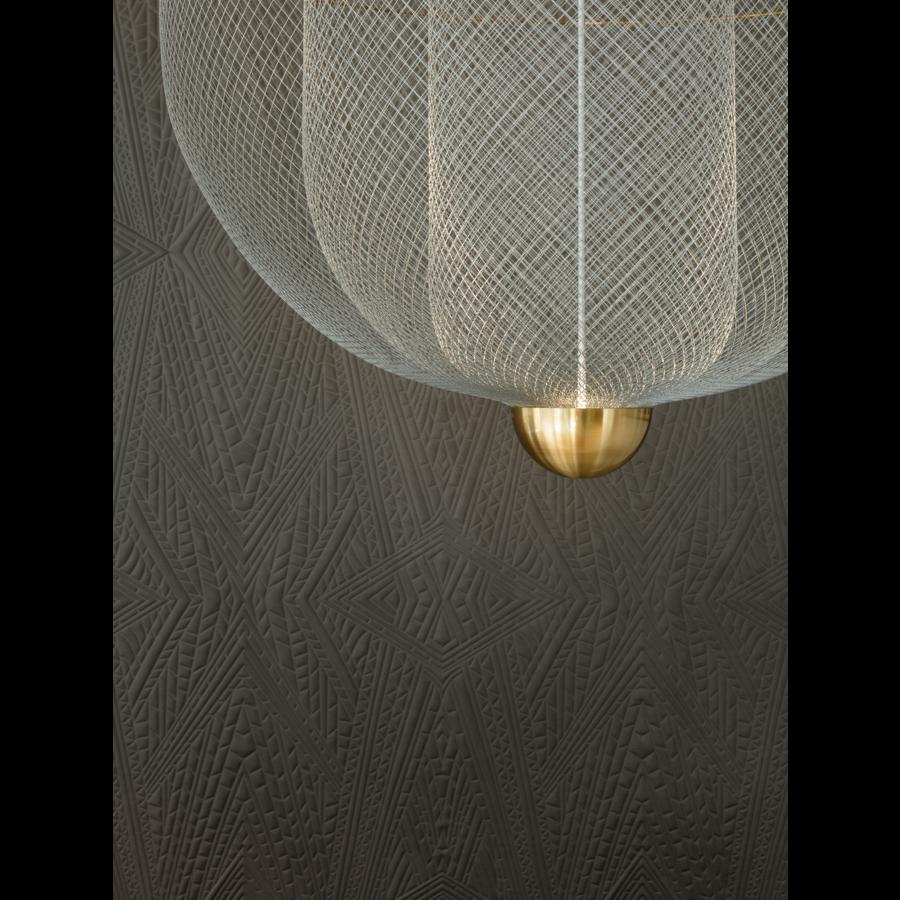 Dimbare hanglamp Meshmatics Large met geïntegreerde LED