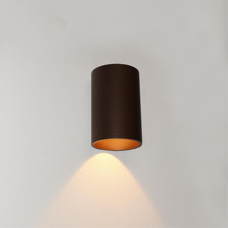 Dimbare in- en outdoor wandlamp Brody 1 met geïntegreerde LED