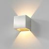 Artdelight Dimbare in- en outdoor wandlamp Cube met geïntegreerde LED