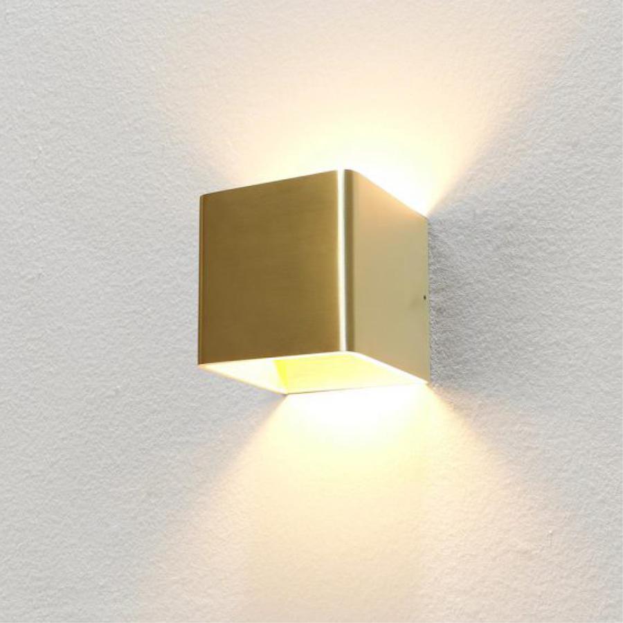 Dimbare wandlamp Fulda met geïntegreerde LED