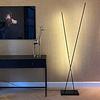 Freelight Dimbare 2-lichts vloerlamp ThinK met geïntegreerde LED