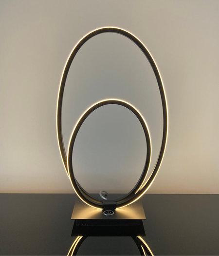 Ophelia Zwart LED - H 41 cm