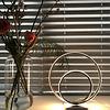 Freelight 3-staps dimbare tafellamp Ophelia Staal met geïntegreerde LED - H 36 cm
