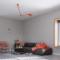 Plafondlamp Bolt Ceiling 2 arm Sidefit - directe plafondinstallatie