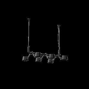 Tonone 6-lichts hanglamp Tonone Bolt Pendant