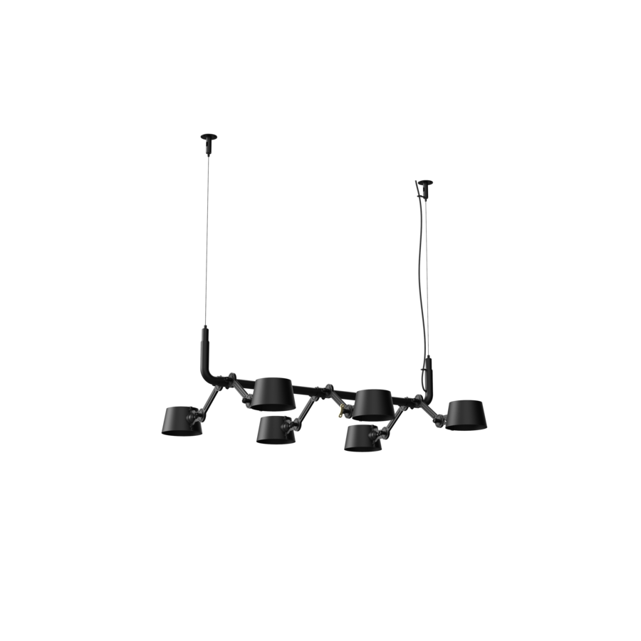 6-lichts hanglamp Tonone Bolt Pendant