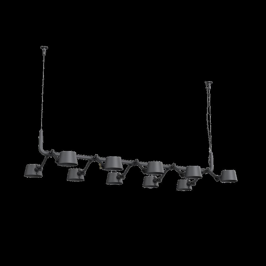 10-lichts hanglamp Tonone Bolt Pendant