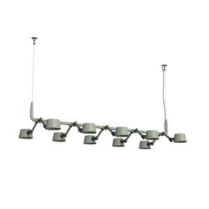 Tonone 10-lichts hanglamp Tonone Bolt Pendant