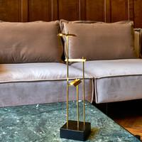 Oplaadbare, snoerloze, dimbare tafellamp Knokke met geïntegreerde LED