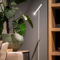 Dimbare vloerlamp Harper met geïntegreerde LED