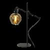 Masterlight 1-lichts tafellamp Bounty Smoke met glas nr. 3 - mat zwart