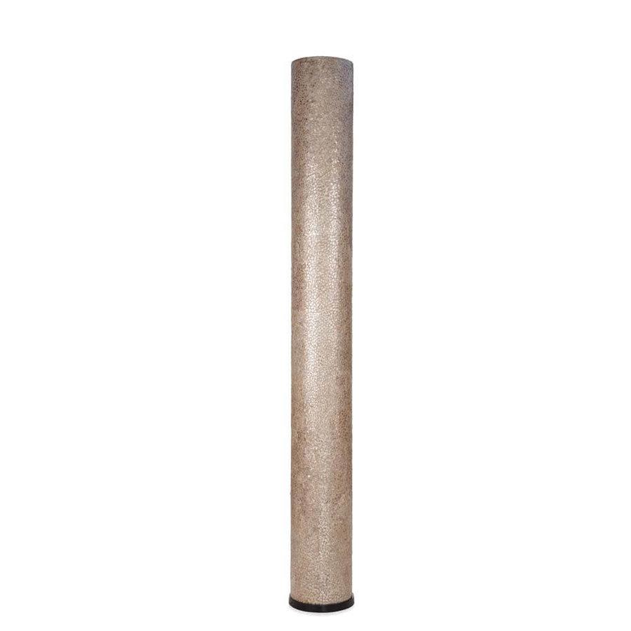 Vloerlamp Wangi Gold Cilinder - H 200 cm