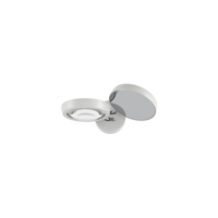 Dimbare wandlamp Nautilus met geïntegreerde LED - 2700 K (extra warm wit licht)