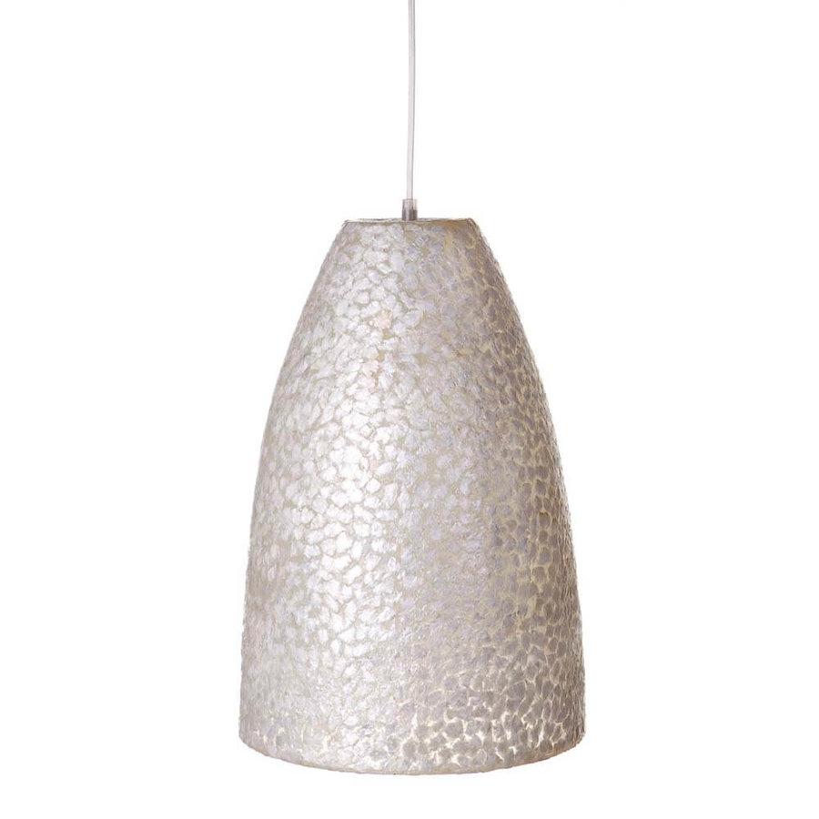 Hanglamp Wangi White Bell Small