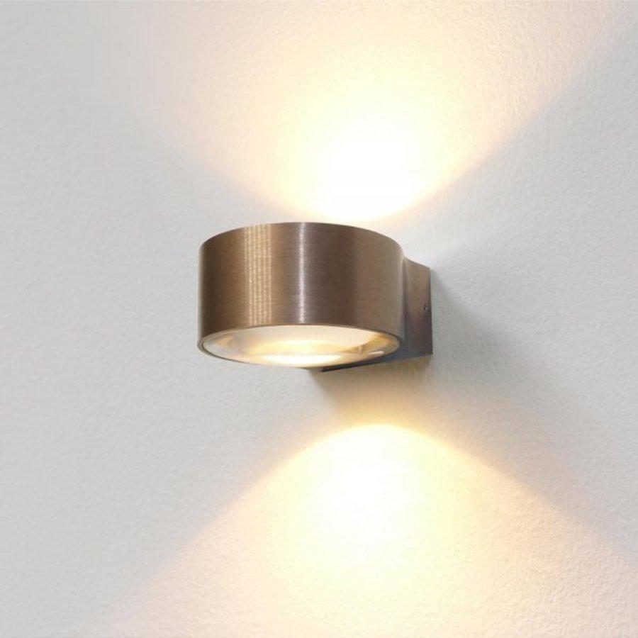 Dimbare in- en outdoor wandlamp Hudson met geïntegreerde LED