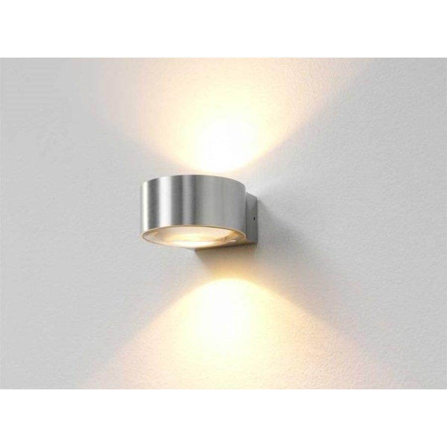 Dimbare up-down wandlamp Hudson met geïntegreerde LED