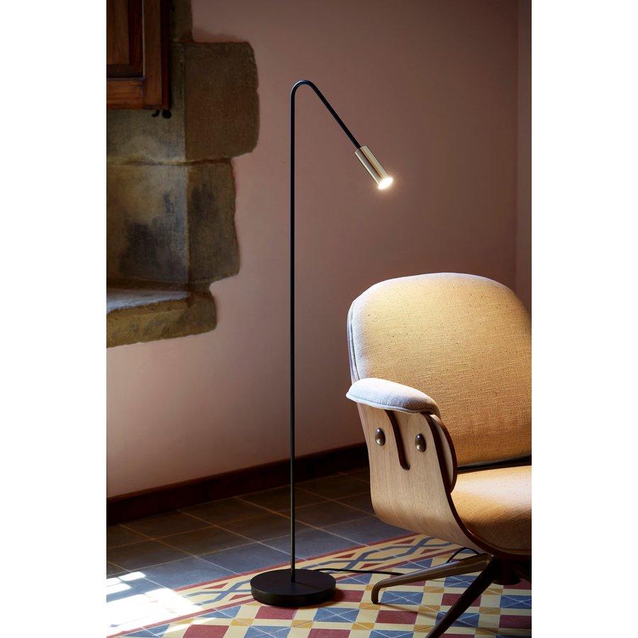 Dimbare vloerlamp Volta met geïntegreerde LED