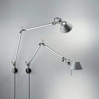 Dimbare wandlamp Tolomeo met geïntegreerde LED