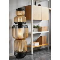 4-lichts vloerlamp Totem Bamboo