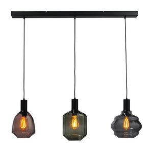 Masterlight 3-lichts hanglamp Porto Mix