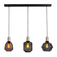 3-lichts hanglamp Porto Mix