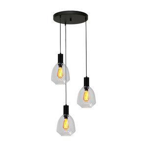 Masterlight 3-lichts hanglamp Porto Nicolette