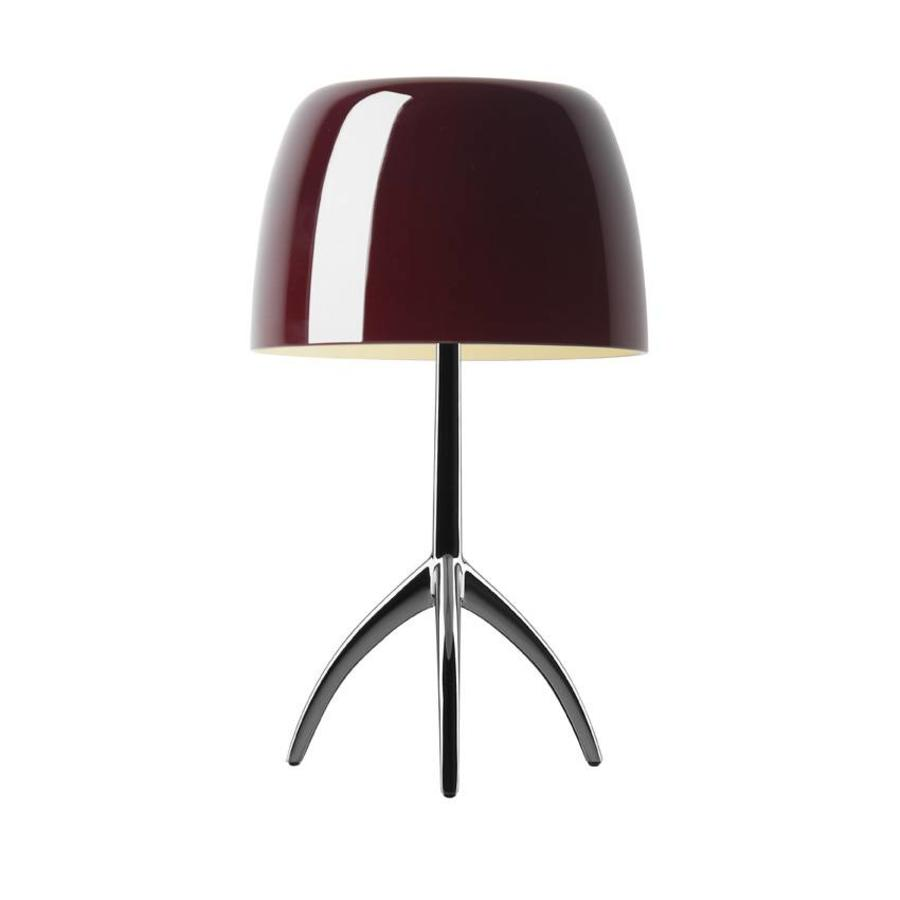 Tafellamp Lumiere Small Kersenrood