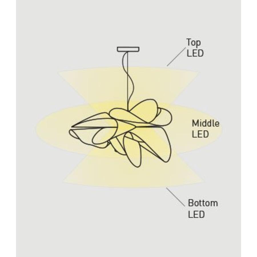 Dimbare hanglamp Étoile Small met geïntegreerde LED