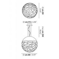 Hanglamp Kelly Large Sphere Ø 80 cm