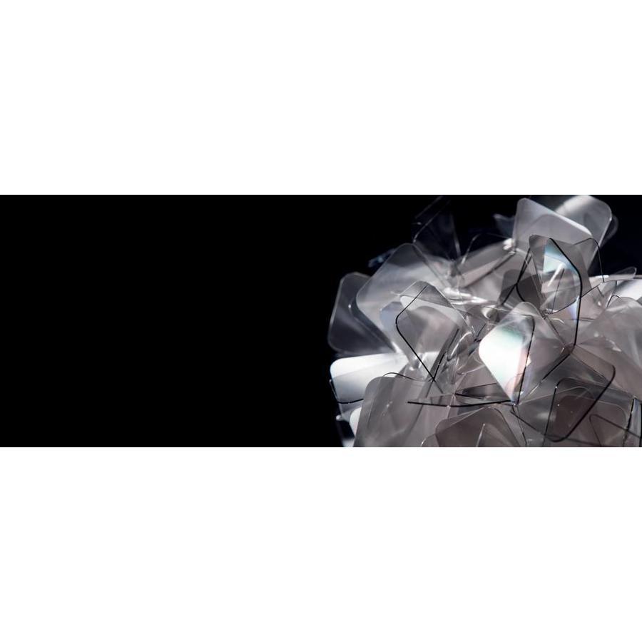 Wand-plafondlamp Clizia Large Fumé