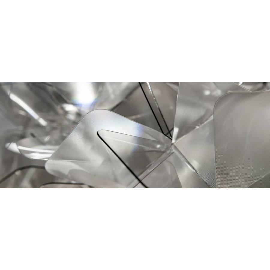 Wand-plafondlamp Clizia Medium Fumé