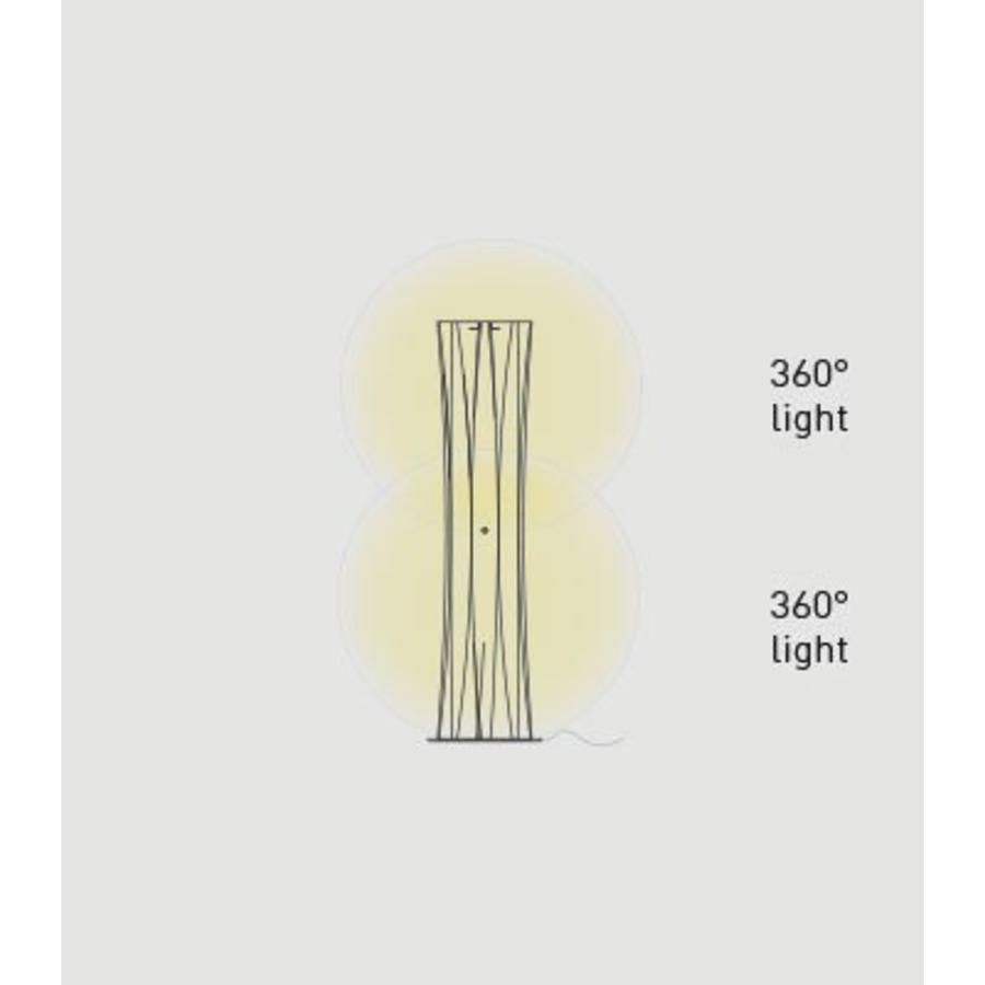 Vloerlamp Bach Large met aan-uitschakelaar