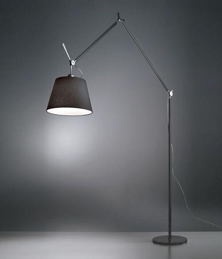 Tolomeo Mega Terra LED - Zwart