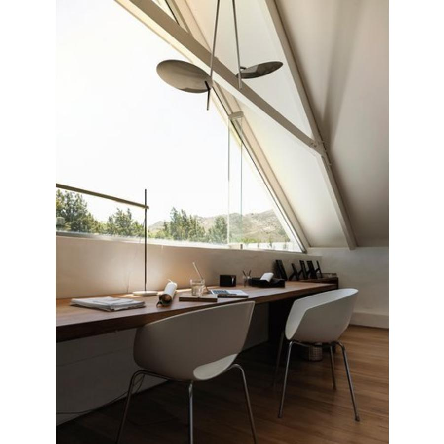 Dimbare plafondlamp Lederam C2 met geïntegreerde LED