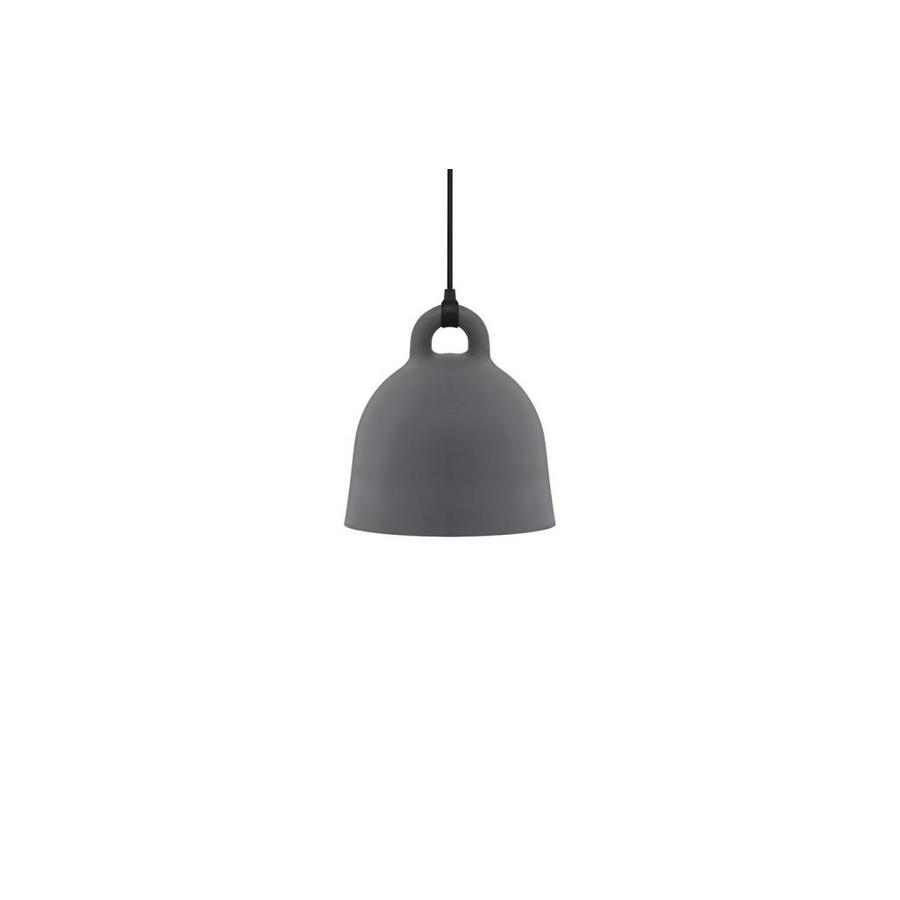 Hanglamp Bell Small Grey