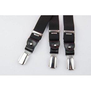 Luxe Zwarte smalle Bretels