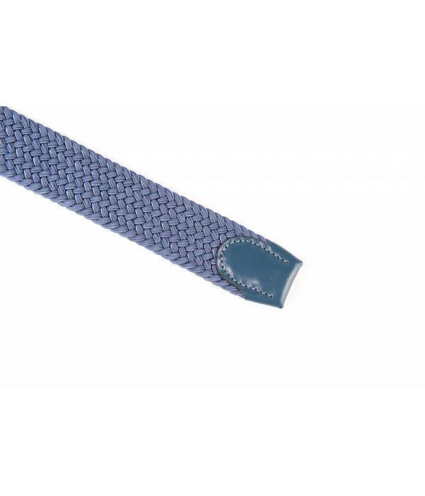 Alberto riemen Mooie blauwe webbing riem