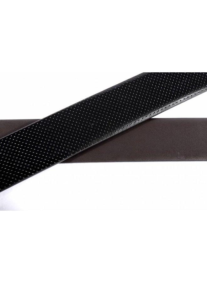 Luxe reversible riem bruin - zwart