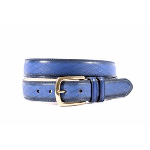 Prachtig blauwe pantalonriem
