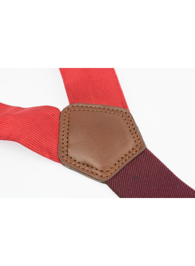 Luxe Rode Bretels