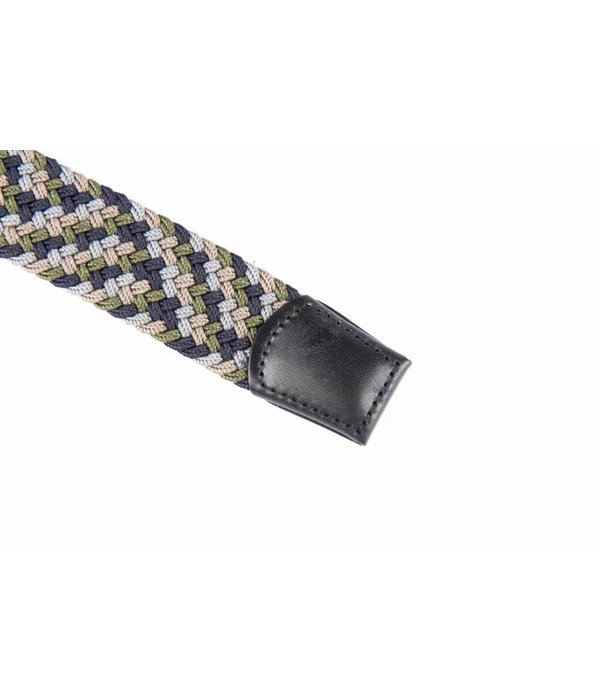 Alberto riemen Mooie elastische multicolour webbing riem