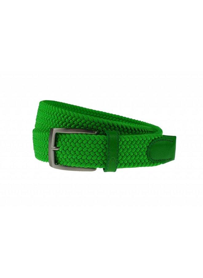 Fraaie neon groen webbing riem